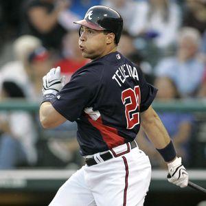 Mark Teixeira  former Braves and  Angels' first baseman ...........