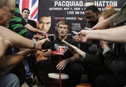 Hatton Pacquiao Boxing
