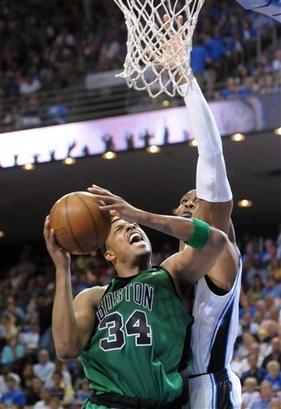Paul  Pierce  of the  Celtics ....