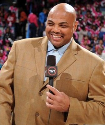 Former  NBA  great,  turned NBA   broadcast  analyst  ,  Charles  Barkley   ,  seen   here   courtside   at  the  T-Mobile  Rookie Youth  Jam part  of  the   2008  NBA  All Star  Weekend  that  took  place  at  the New  Orleans  Arena  ,  New  Orleans,  Louisiana,.  Barkley   recently  stated  that  he'd   like  to  take  an  executive   role as the GM  of   an  NBA  franchise.   Something   that  I  for  one  can't   necessarily  see   Barkley   doing  at this   juncture.  He's   got   far  too  comfortable  a  position  behind  the  desk   at  TNT  covering  the  NBA  with  his    usual   forthright   and   deprecating  analysis.       picture  appears  courtesy   nbae/getty images/ Andrew  D.  Bernsein ....................