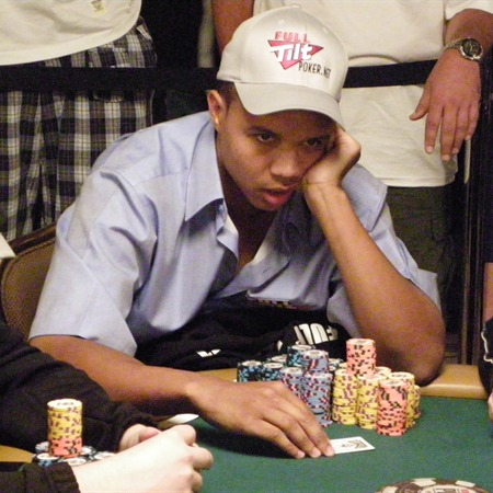 The  amazing  Phil Ivey  seen  here  competing  in  the  World  Series of  Poker  (WSOP)   2009  .   picture  appears  courtesy of    Lyle  Troughton  ..........