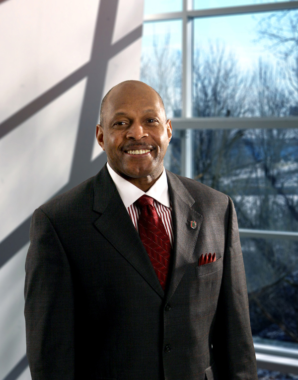 Archie Griffin , former Ohio State Buckeye and  a two time  recipient  of the Heisman Trophy   in  1974 and 1975.  The only  two-time  trophy  winner  in  Heisman  history .   picture appears  courtesy  of   buckeyenews - Alexander  Thompson  ..................