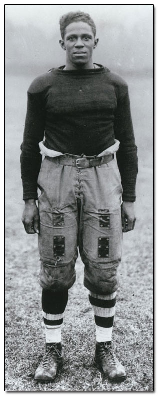 Frederick Douglas 'Fritz'  Pollard , the  first minority  coach  of an  NFL  team.   Pollard is an  inductee  in  the  NFL  Football  Hall  of  Fame.