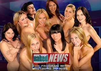 The women of Naked News Italy . Is this somet