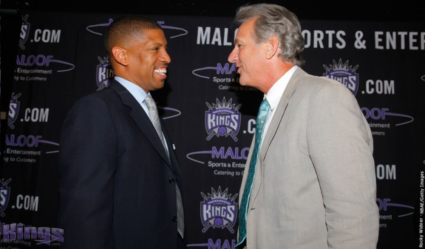 Westphal   (right)  seen here   with  Mayor   of Sacramento ,  Kevin  Johnson.    photo  appears  courtesy  of   Getty  Images/  Ivan  Bressloff  ............