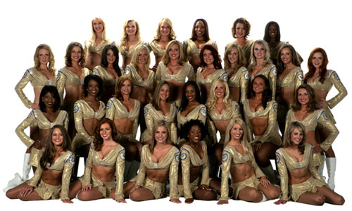 St  Louis   Rams   Cheerleaders