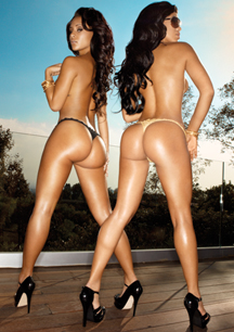 """<font face=""""andalus""""  size=""""3"""">   Brittany  and   Surelyn   packin'  a  whole  of  <b> fire   power    in  their   """"as_ses"""" </b>   don't   you  think  ?  </font>"""