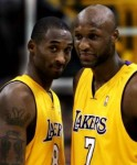 Fill in the blank as to what Kobe might be saying to Lamar or vice versa ?