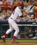 Jamie Moyer draws a bases-loaded walk against the New York Mets during the fourth inning of their National League MLB baseball game in Philadelphia, Pennsylvania, May 2, 2010. Reuters _ Tim Shaffer ........