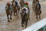 Super Saver down the home stretch in the 136th running of the Kentucky Derby on May 1, 2010 in Louisville, Kentucky. Getty Images/ Jamie Squires .............