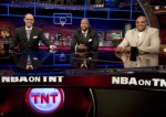 Inside the NBA on TNT with Charles Barkley, Kenny Smith, and host Ernie Johnson. Courtesy of TNT TV. @ copyrighted material all rights reserved...........