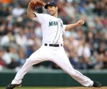 Starting pitcher Cliff Lee (36) of the Seattle Mariners pitches against the Minnesota Twins at Safeco Field on June 2, 2010 in Seattle, Washington. Getty Images/ Otto Greule Jr .......