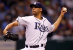 St Petersburg ,May 1st 2010. David Price of the Tampa Bay Rays of the Kansas City Royals during the game at Tropicana Field on May 1, 2010 in St. Petersburg, Florida. Getty Images/ J Meric ..........