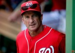Jim Riggleman manager of the Washington Nationals . Associated Press/ Larry Ford ..........
