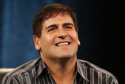 Dallas Mavericks' owner Mark Cuban seen here addressing the pubic at a convened press conference . courtesy of i/bnet.com/business / copyrighted material @ all rights reserved ....................
