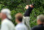 Dublin ,Oh,. Phil Mickelson hits his tee shot on the 14th hole during the final round of The Memorial Tournament presented by Morgan Stanley at Muirfield Village Golf Club on June 6, 2010 in Dublin, Ohio.