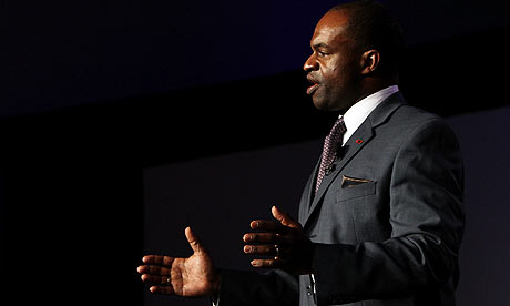 NFLPA Executive Director DeMaurice Smith whose voice has remained ominously silent concerning the conduct of his members . I wonder why that is ? Getty Images / Doug Benc .............