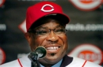 Cincinnati Reds' manager Dusty Baker whose team is having a rather strong season in the National League. Associated Press/ Chris Mayhew