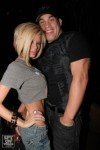 Jameson and her partner UFC fighter Tito Ortiz. courtesy of Associated Press/ Charles Rogers ........