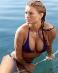 Model and aspiring actress Marisa Miller . Something most definitely to write home about !