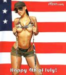 Melyssa Ford wishes you all a happy 4th of July !