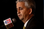 US Soccer President Sunil Gulati whose job it will now be to assess the US team's failings at the World Cup. Gulati has publicly stated that he was disappointed at the team's effort but understands that there's still a great deal that needs to be done . Also on his agenda appears to be whether or not Bradley should still be retained as the national team's head coach. Getty Images / Ken Springs ...........