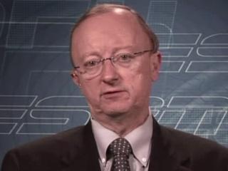 ESPN NFL analyst John Clayton . courtesy of Getty Images/ Chris Miller ...