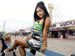"Nicole Polizzi aka ""Snooki"" one of the stars of the MTV reality show ""Jersey Shore"". Snooki like Gray longs to be viewed with some credibility but the utterances from both tend to negate much of what they're said to be about. One wonders why ? courtesy of Stars Inc. ......."