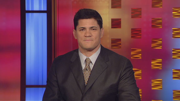Tedy Bruschi formerly of the New England Patriots and now an ESPN analyst. courtesy of espn.go.com/archives ........