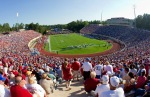 Durham , NC,. A crowd of 39,042 was on hand for the game between the Alabama Crimson Tide and the Duke Blue Devils at Wallace Wade Stadium on September 18, 2010 in Durham, North Carolina. The Crimson Tide defeated the Blue Devils 62-13. Photo by Brian A. Westerholt/Getty Images