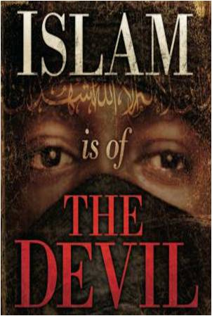 Islam Is of The Devil a book written by religious zealot and pastor Terry Jones. The book itself takes a rather disdainful look upon the Muslim religion and is somewhat biased and without little credence as to its opinions and findings.