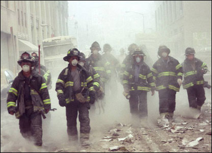 NYC Firefighters whose gallant efforts to save lives on that fateful day shouldn't be forgotten. courtesy of Tim Kerhsawe