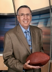 ESPN play-by-play commentator Brent Musburger . A staple within sports broadcasting for almost four decades Musberger is a well respected broadcast reporter. ESPN / John Atashian ..........