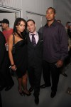 Co-founder of PR/PR Phil Reese (C), model Jenn Sterger (L) and Ryan Grant (R) #25 of the Green Bay Packers attend the PR/PR launch party at Red Bull Space on April 28, 2009 in New York City . Getty Images North America / Jamie McCarthy .......
