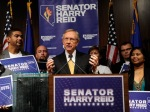 U.S. Senate Majority Leader Harry Reid of Nevada speaks during a post-election news conference in Las Vegas. Ethan Miller/Getty Images ....