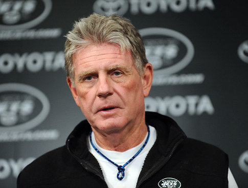 Mike Westhoff, Jets special teams coordinator, when the New York Jets practiced January 6, 2010 at the Atlantic Health Jets Training Center in Florham Park, New Jersey. Getty Images / Ian Carmichael .........