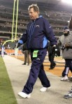 Norv Turner the Head Coach of the San Diego Chargers walks off of the field following the Chargers 34-20 loss to the Cincinnati Bengals during the NFL game at Paul Brown Stadium on December 26, 2010 in Cincinnati, Ohio. Photo by Andy Lyons/Getty Images ............