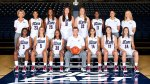 Auriemma ,front row center and the women of the U Conn Huskies' Basketball Team . Their now unprecedented feat of consecutive victories in team sports is unsurpassed in collegiate athletics . As to whether or not that feat ought to be compared to that of John Wooden's UCLA Bruins Men's Basketball feat of 88 consecutive wins from 1970-74 which came to an end in a defeat by Notre Dame will now be adjudged by the fans , media and public alike . Picture comes courtesy of the U Conn Huskies' website. uconnhuskies.com .......