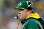 : Head coach Mike McCarthy of the Green Bay Packers on the sidelines against the Chicago Bears at Lambeau Field on January 2, 2011 in Green Bay, Wisconsin. Photo by Matthew Stockman/Getty Images ..........