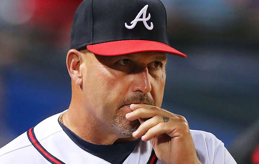 (1) Fredi Gonzalez , former manager of the Atlanta Braves. Gonzalez became the first managerial casualty of the season when he was fired by the organization earlier this month . The Baves have since promoted Brian Snitker to succeed Fredi Gonzalez. The team still has the worst record in all of baseball and it is likely Snitker's position will just be for the remainder of the season before the franchise seeks a permanent sucessor. AP Photo/ Bryan Mullen